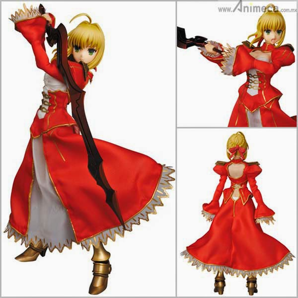 SABER EXTRA REAL ACTION HEROES No.713 FIGURE Fate/EXTRA Medicom Toy