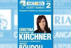 El 14 de agosto votamos Cristina-Amado