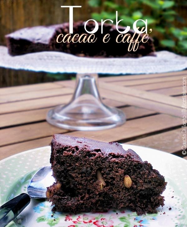 torta cacao e caffè
