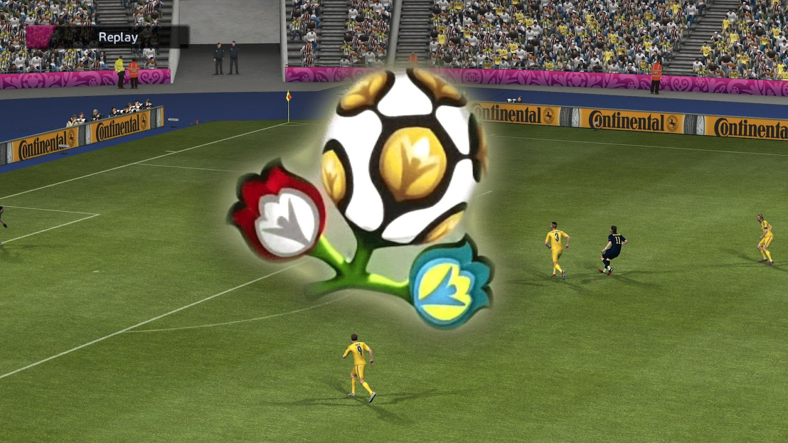 PES2012 EURO 2012 DLC unofficial patch full preview