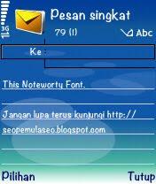 font TTF, support unicode, symbian