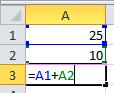 Fórmulas sencillas en Excel 2007