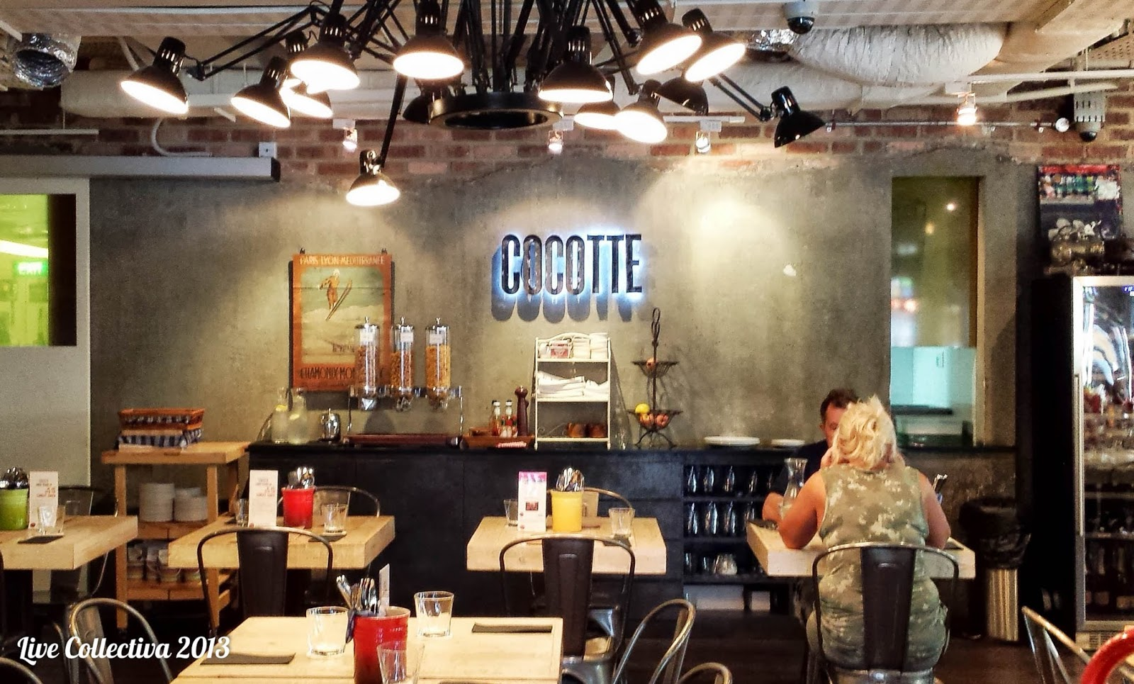 Cocotte review french restaurant and bar at wanderlust - Decoracion rustica moderna ...