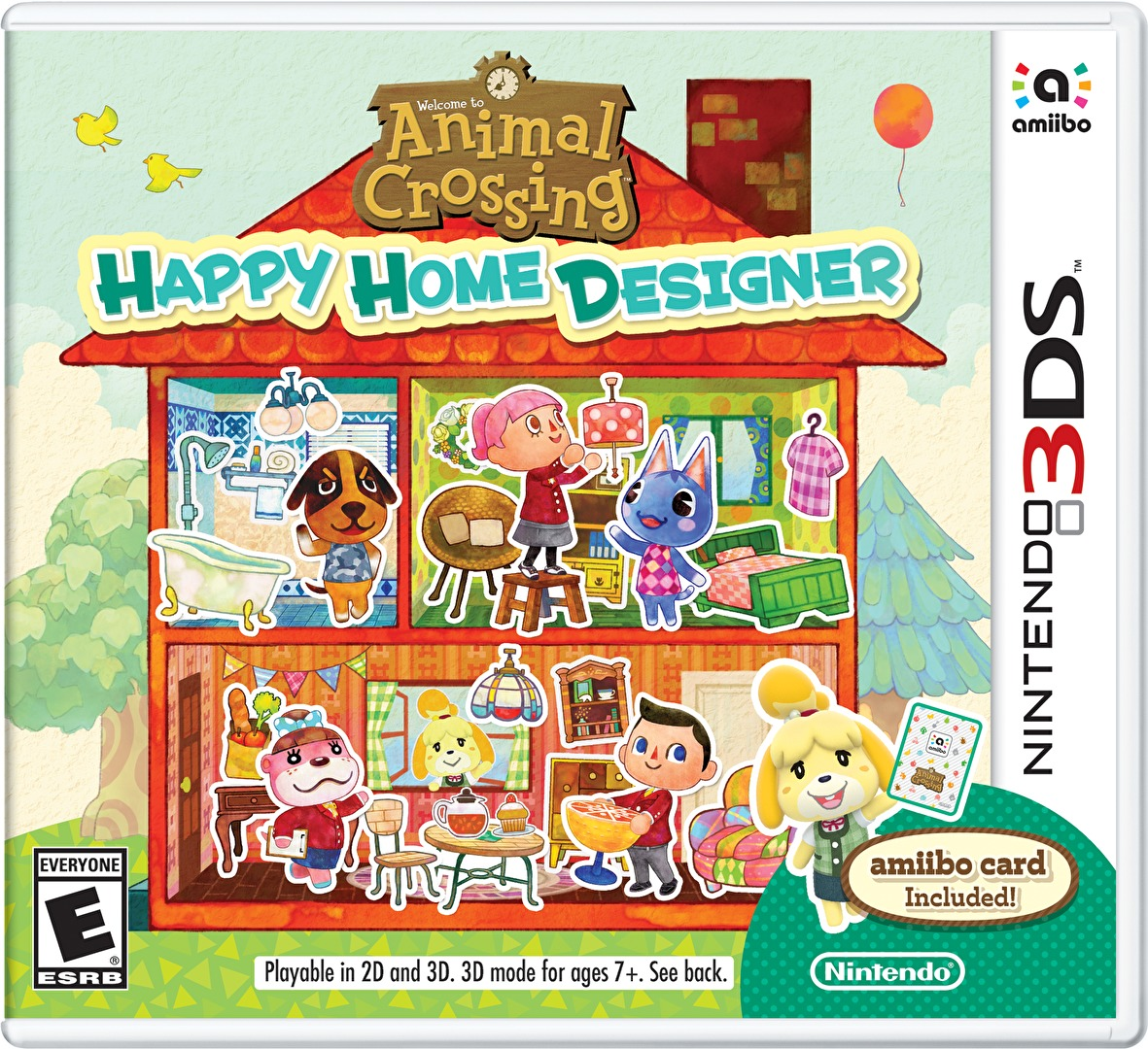Animal Crossing  Happy Home Designer  3DS  ReviewSuperPhillip Central  9 27 15   10 4 15. Home Design Game. Home Design Ideas