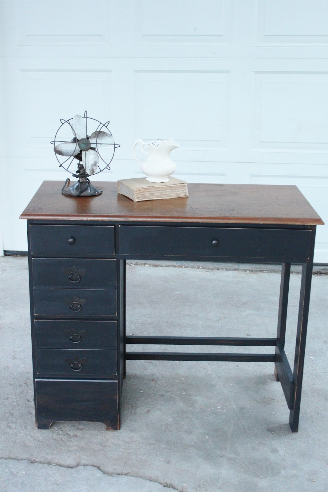 Distressed Wood Office Furniture Modern Home Design And