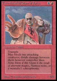 OTRAS FORMAS DE JUGAR A MAGIC Two_Headed_Giant_of_Foriys