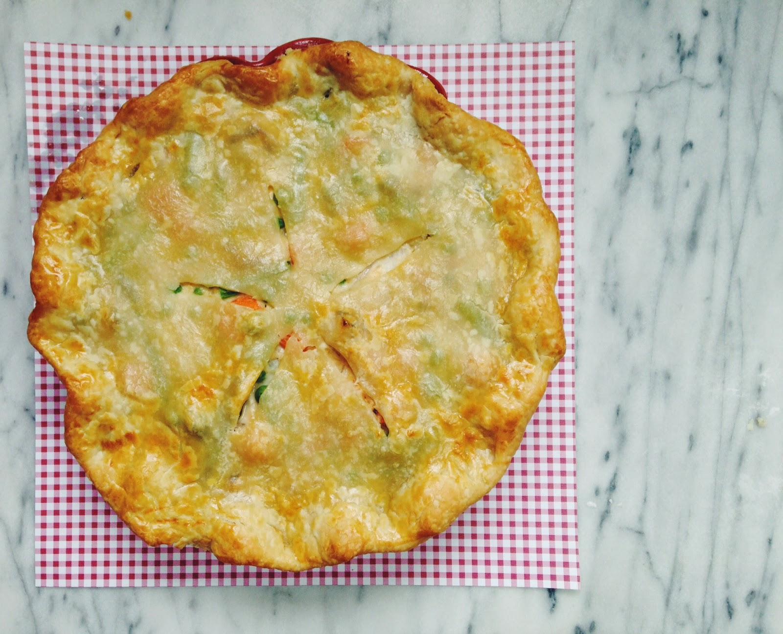 little kitchie: spring vegetable pot pie