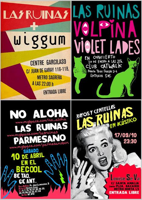 Carteles de conciertos 2010-2011