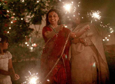 Rani Mukherjee at Aditya Chopra's Diwali Bash 2013
