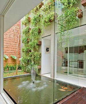 Desain Kebun Rumah on Desain Gambar Taman Dalam Rumah Ruangan   Freewaremini