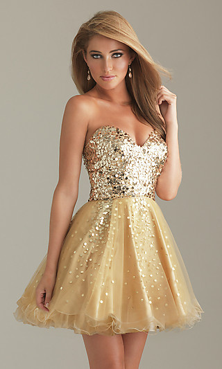 Hills in Hollywood: Party/semi-formal dress of the Week - N6498.