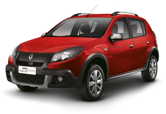 carro on Renault Sandero Stepway 2013