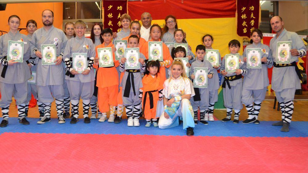 Madrid KUNG-FU Clases Infantil Escuela Shaolin Tlf: 626 992 139 Maestra PatyLee y Master Senna.