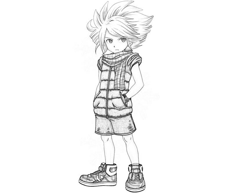 inazuma-eleven-2-gazelle-look-coloring-pages