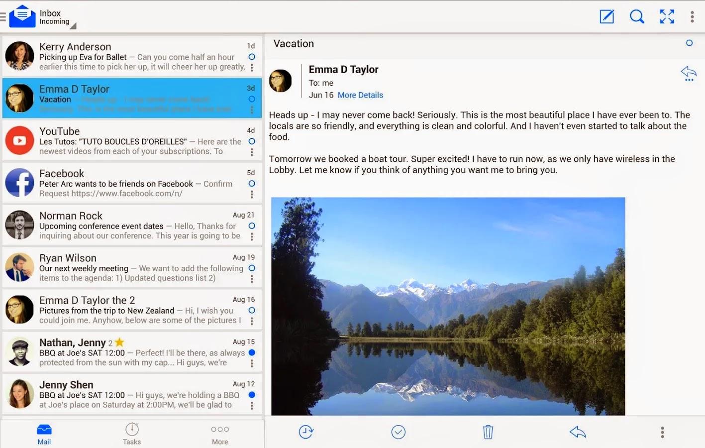Android için en iyi e-posta uygulamaları