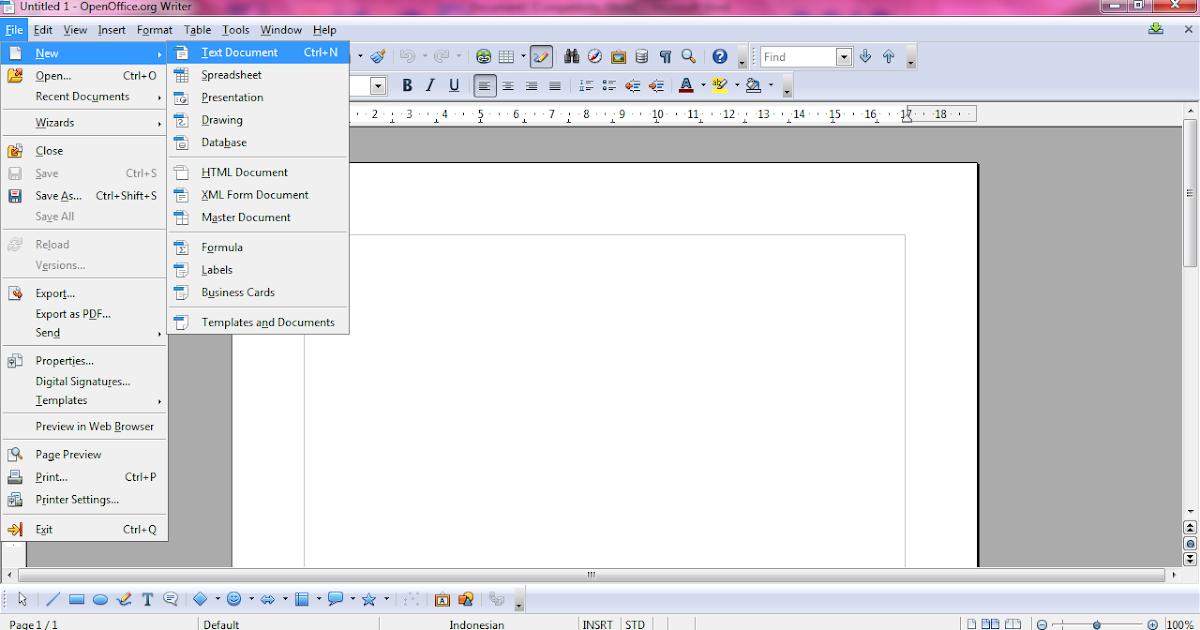 Ester Blogu0026#39;s Langkah Membuat Envelope Menggunakan OpenOffice Writer
