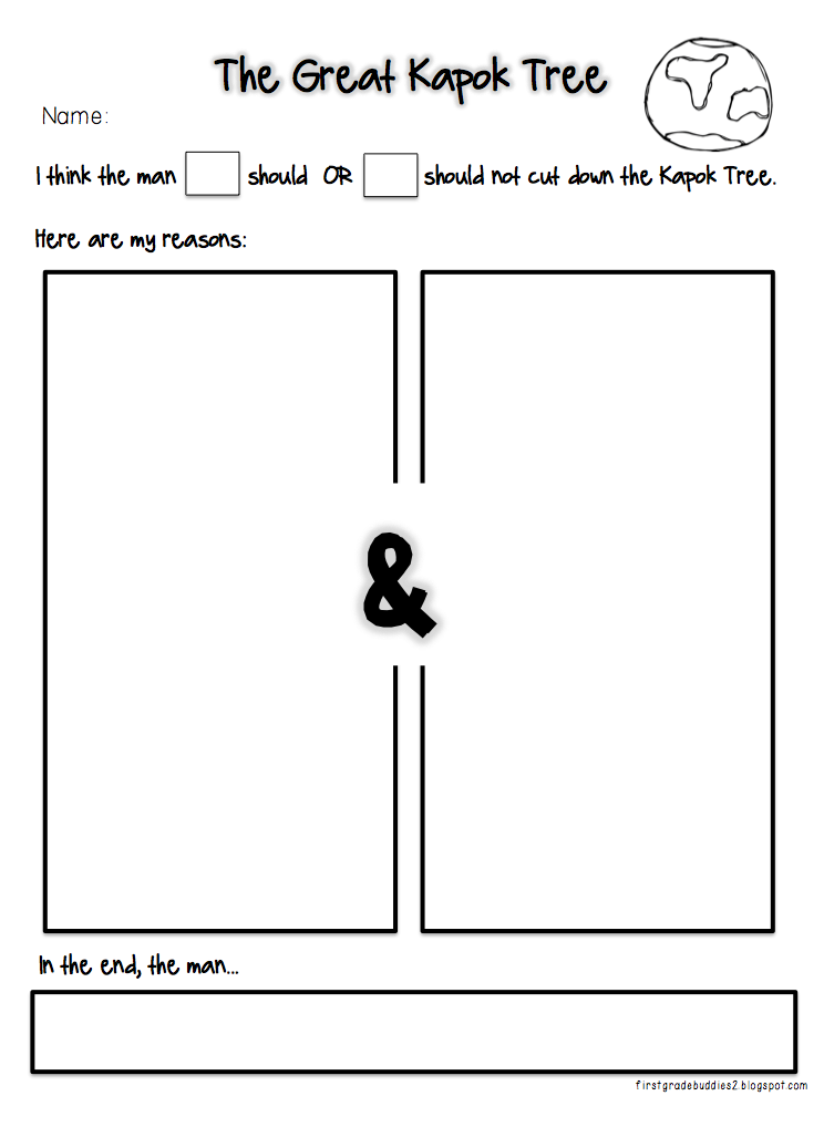 The great kapok tree worksheets