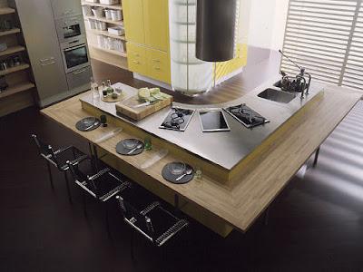 Designingkitchen Island on Laorosa   Design Junky  Modern   Contemporary Kitchen Island Designs