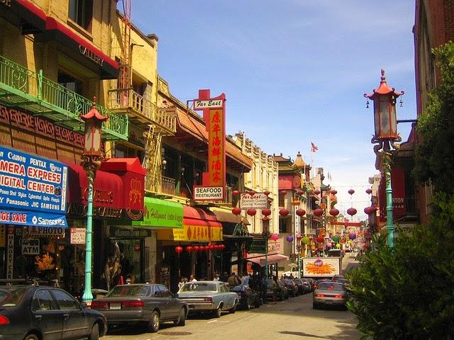 中華街の画像