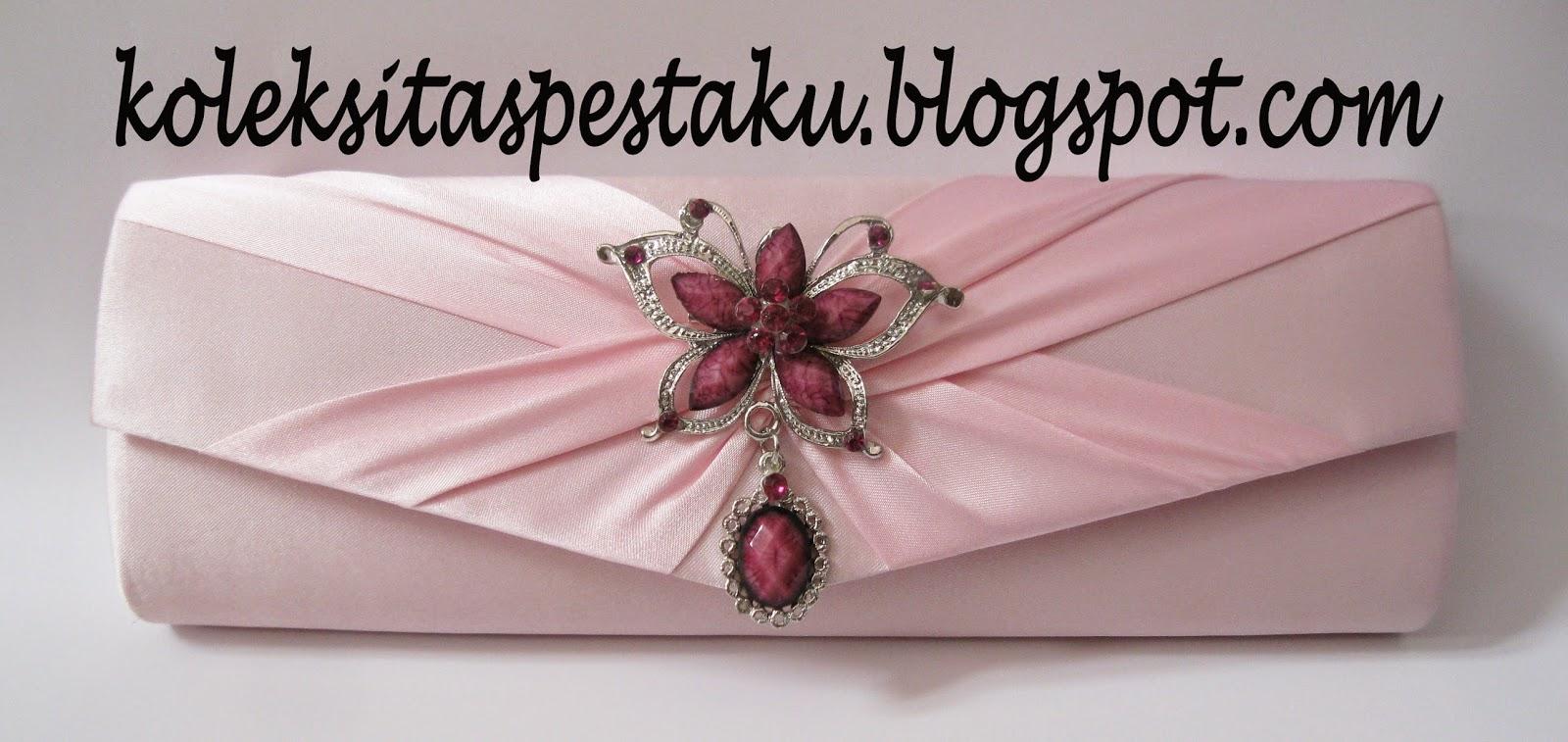Jual tas pesta pink baby bross ungu cantik