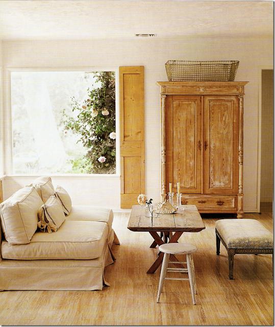 Roses and rust interior harmony kelly harmon - Decoracion rustica moderna ...