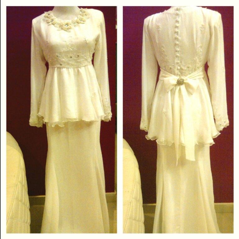 contoh peplum baju pengantin dari Mr Google
