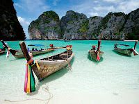 Beautiful beaches in the world,Maya Bay, Thailand
