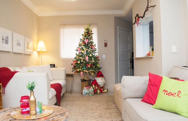 A decoração de Natal da blogueira Nina