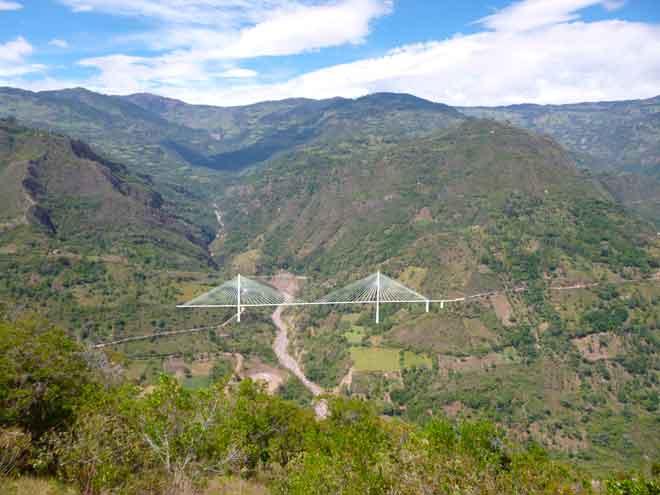 Reinician obras del puente Hisgaura