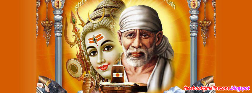 Facebook Timeline Zone Sai Baba And Shiv Facebook Timeline Covers