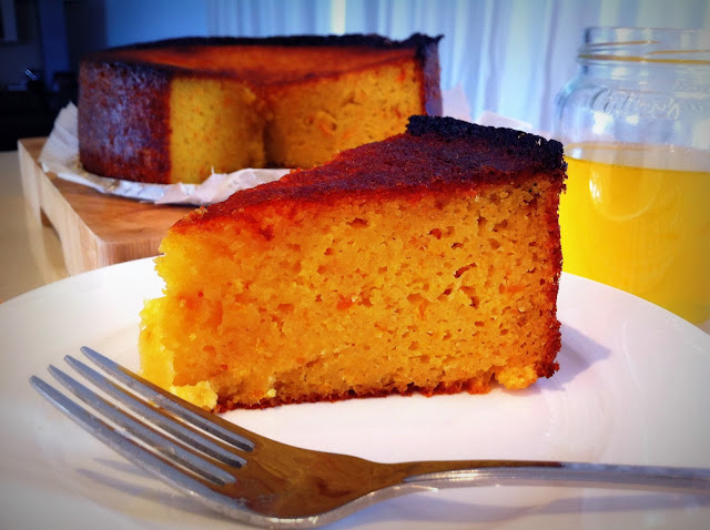kayla marie's kitchen: Almond and Orange Syrup Cake