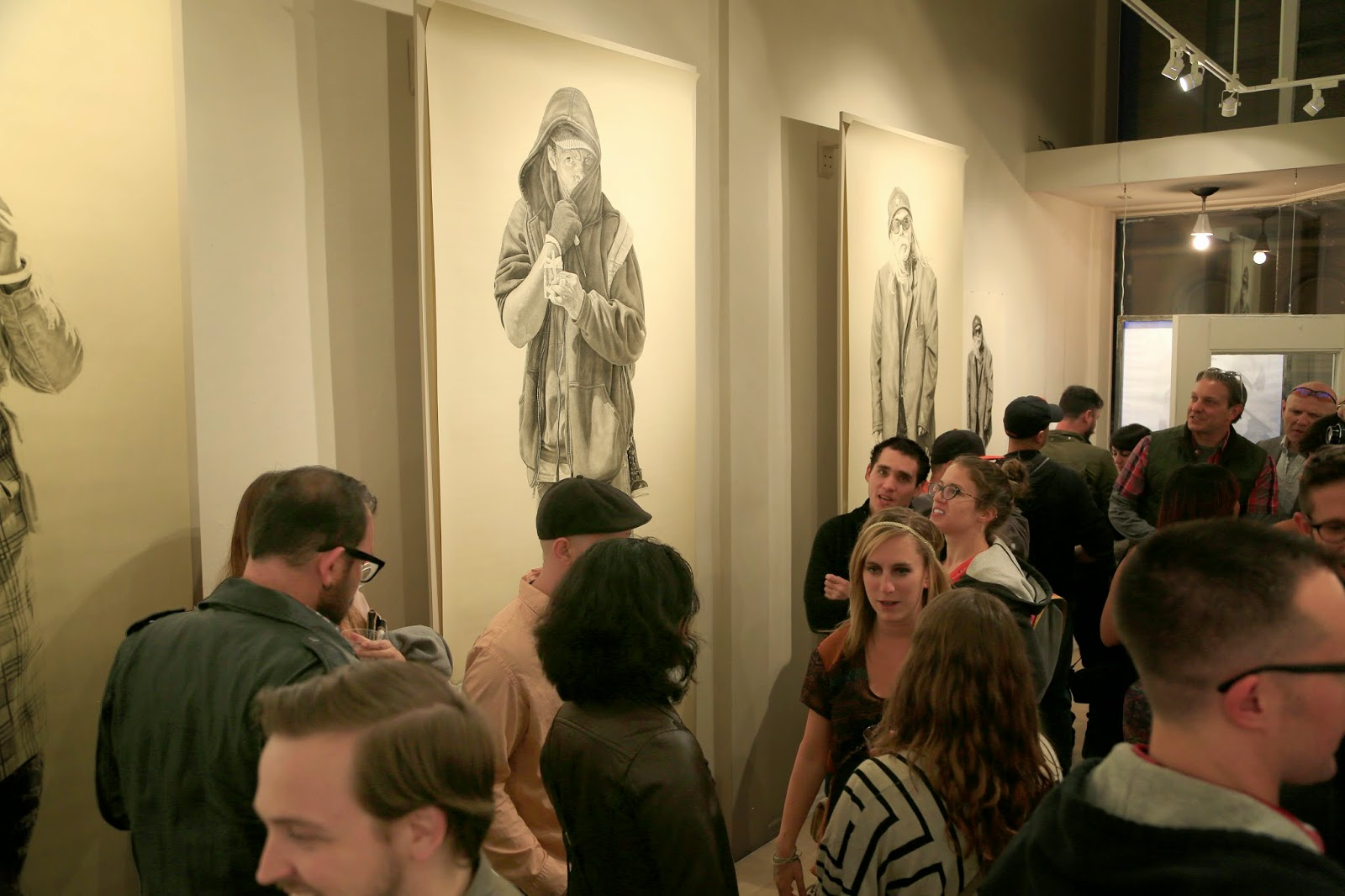 """I Am Another Yourself"" Opening Night Photo at Hashimoto Contemporary"