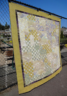 Haiku Quilt - front side view