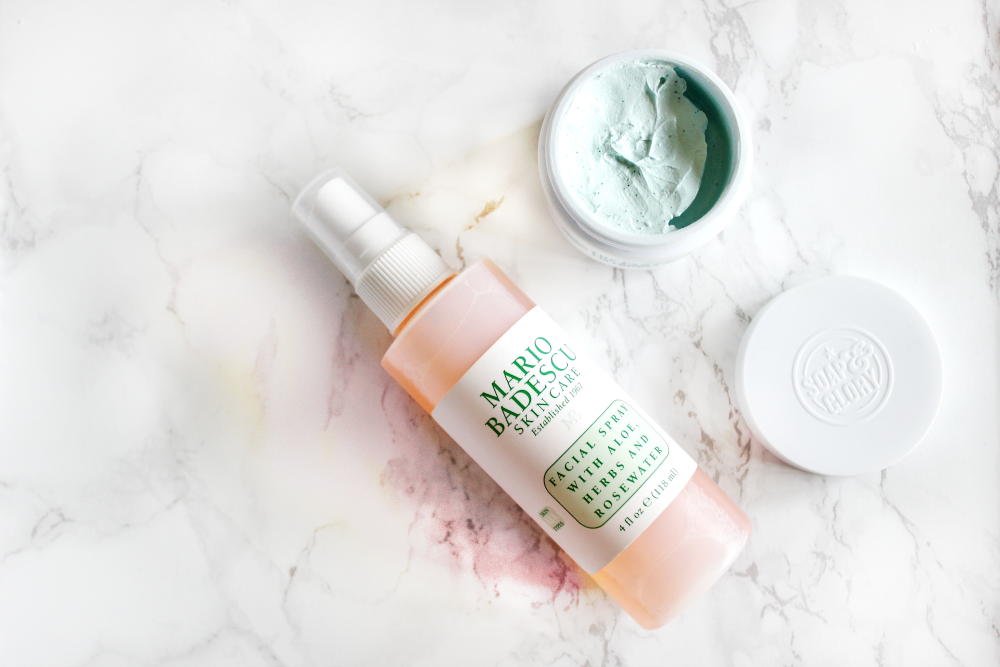mario badescu facial spray soap and glorythe fab pore 2-in-1 facial mask