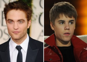 Robert Pattinson Justin Bieber