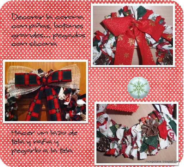 Corona de Navidad: adornos