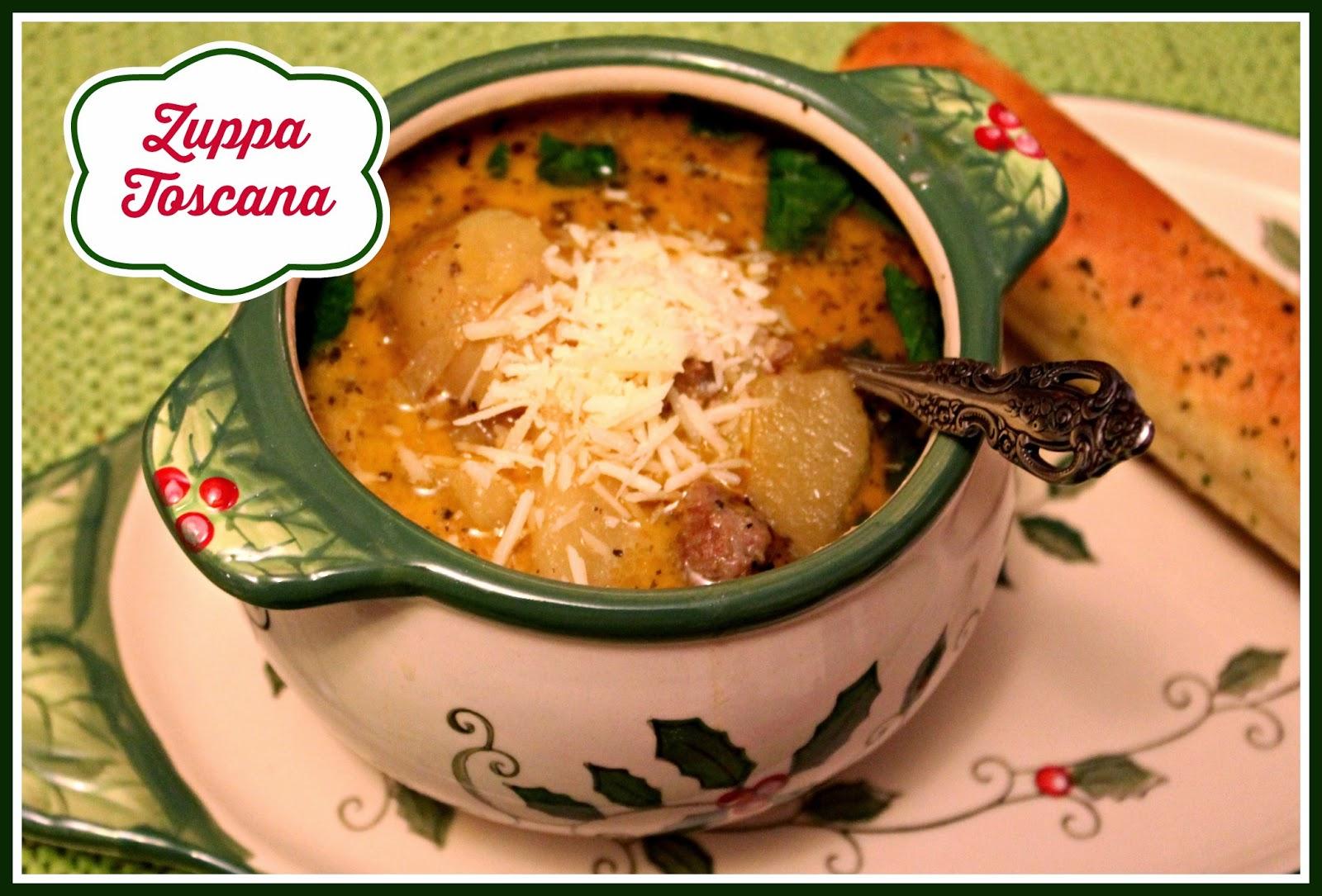 Sweet Tea And Cornbread Zuppa Toscana A Rustic Sausage