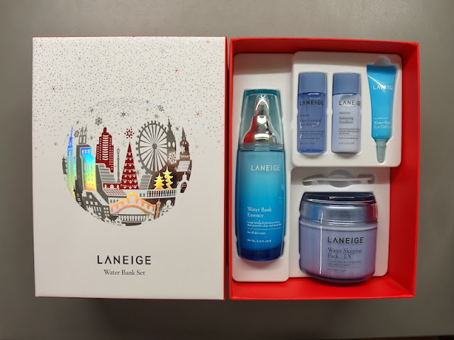 laneige holiday gift sets water bank set lunarrive singapore