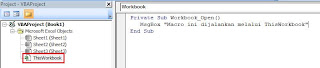 ThisWorkbook Marco Otomatis