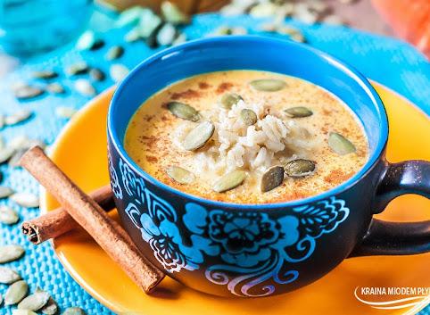 Deserowa i aromatyczna zupa z dyni