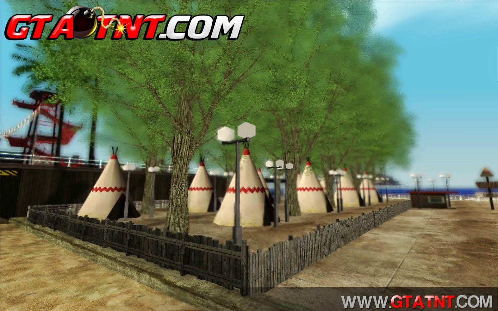 Nova Praia em Santa Maria para GTA San Andreas