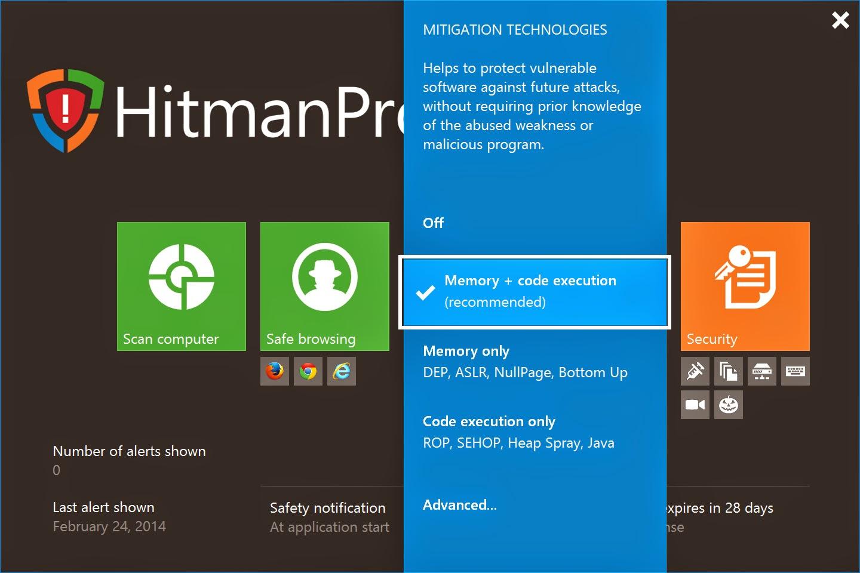 free hitman pro antivirus download