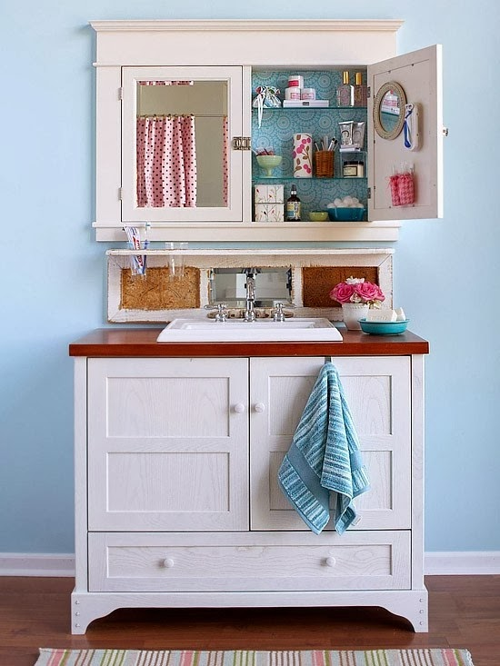 Ideas Baños Funcionales:Pabla en casa: 35 Baños pequeños y funcionales