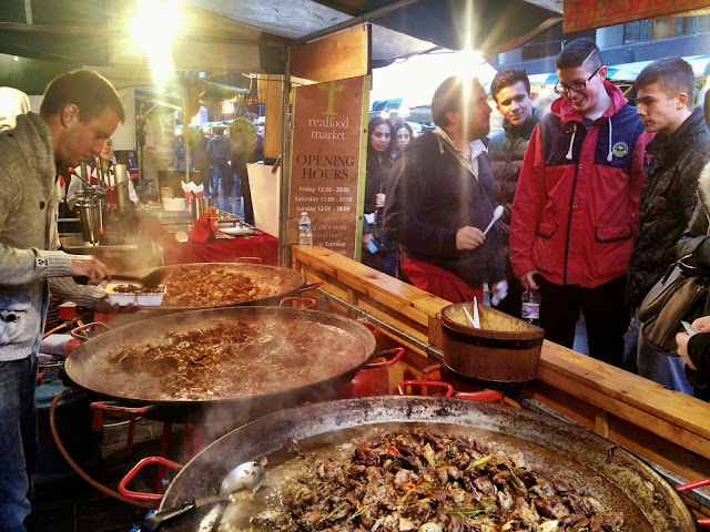 Slow cooked, spicy curries - Real Food Market, South bank, London