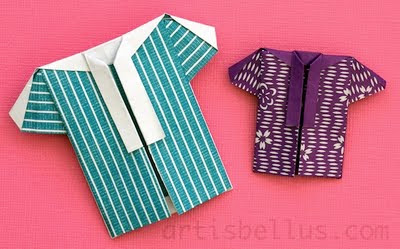 Father's Day: Origami Shirt - New Origami Model and Video