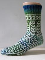 Весенняя авантюра - вяжем носочки!