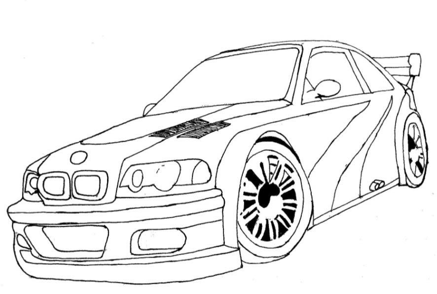 Desenhos de Carros no Computador - Desenhando um