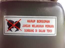 LUCU nya bahasa MALAYSIA