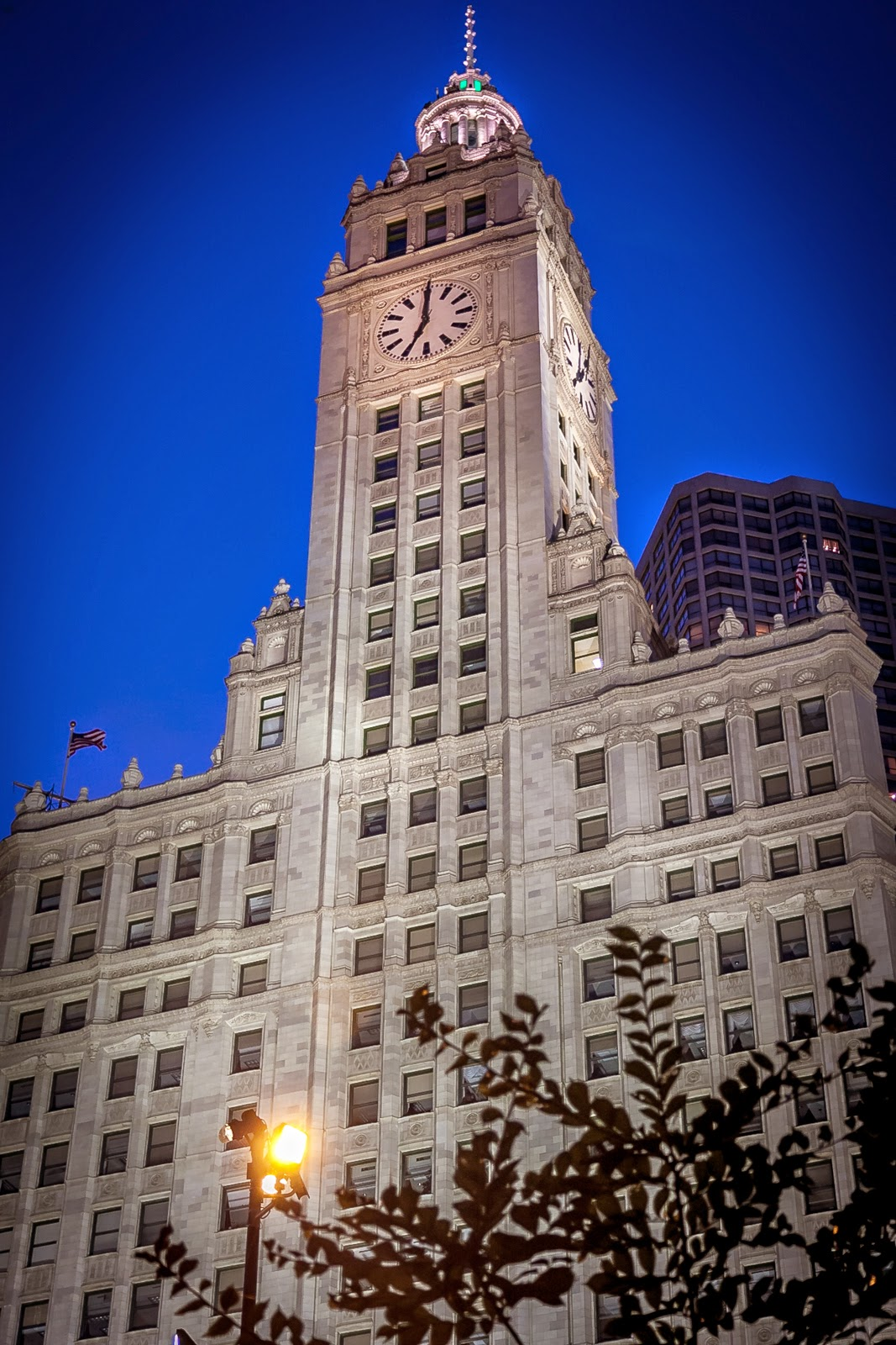 Wrigley Building - Chicago real estate photography, Chicago sports photography