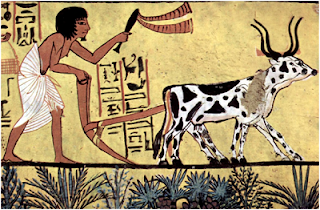 Bajak, mesir kuno, penemuan